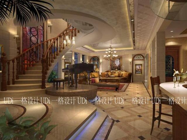 欧式古典的时尚再现 空中豪宅的典雅奢华 中国国际设计艺