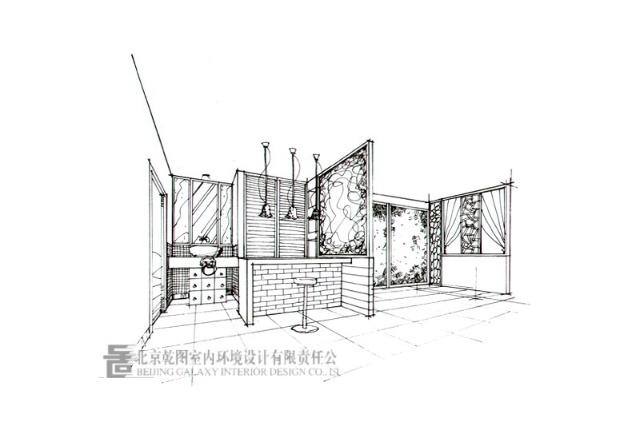 墙体手绘 小房子