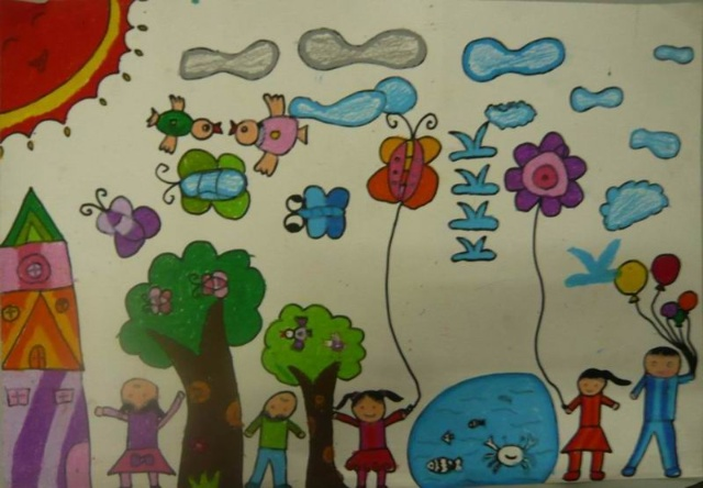 小学二年级美术图画