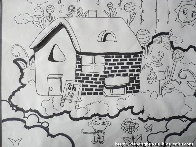 关于向上向善的儿童画 关于向上向善美术作品