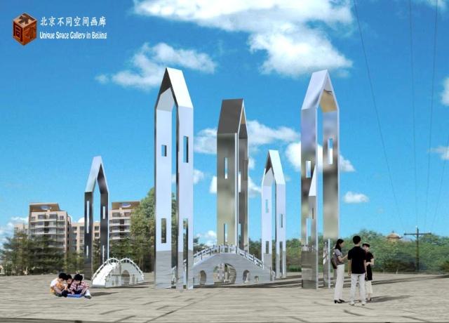 2010年大型公共景观雕塑作品