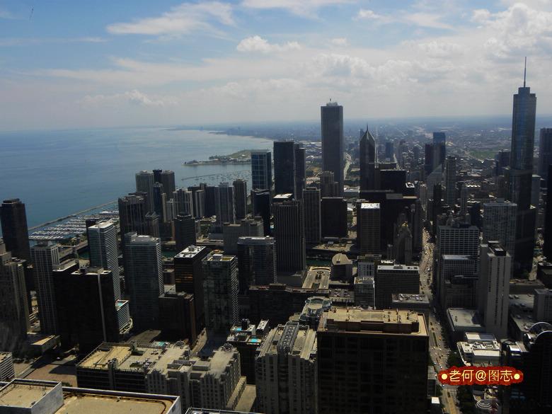 618米的芝加哥螺旋塔和纽约新世贸还没建好的时候