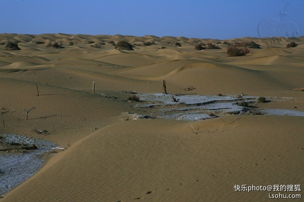 沙海变油田,大漠变通途--塔里木沙漠公路一瞥