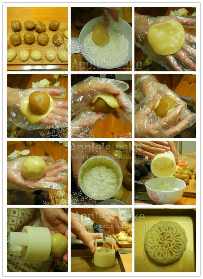 广式月饼超详细步骤图解