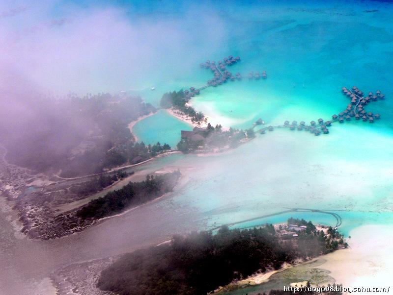 空中再游社会群岛感慨我南海群岛《环太平洋游19》