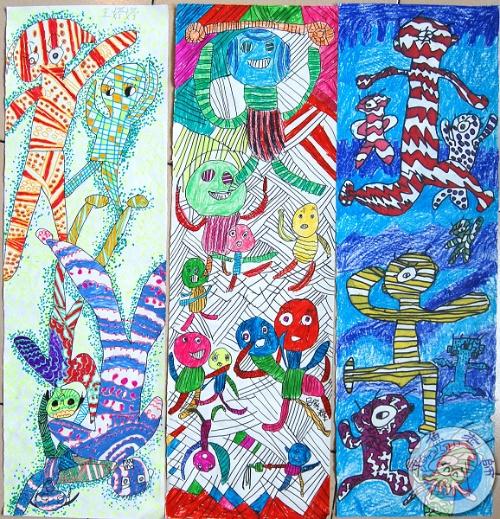 现代儿童人物画创作-章鱼老师-我的搜狐