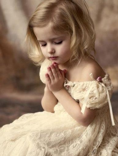 可爱小朋友祷告