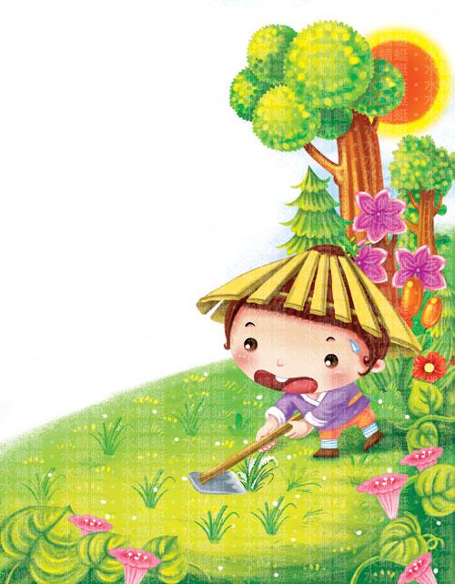 小的小娃娃-8张-水蜻蜓的插画小屋-搜狐博客