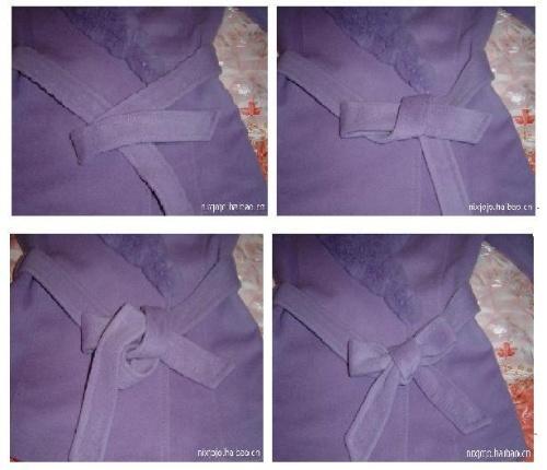 3种蝴蝶结的打法+10种领带的打法