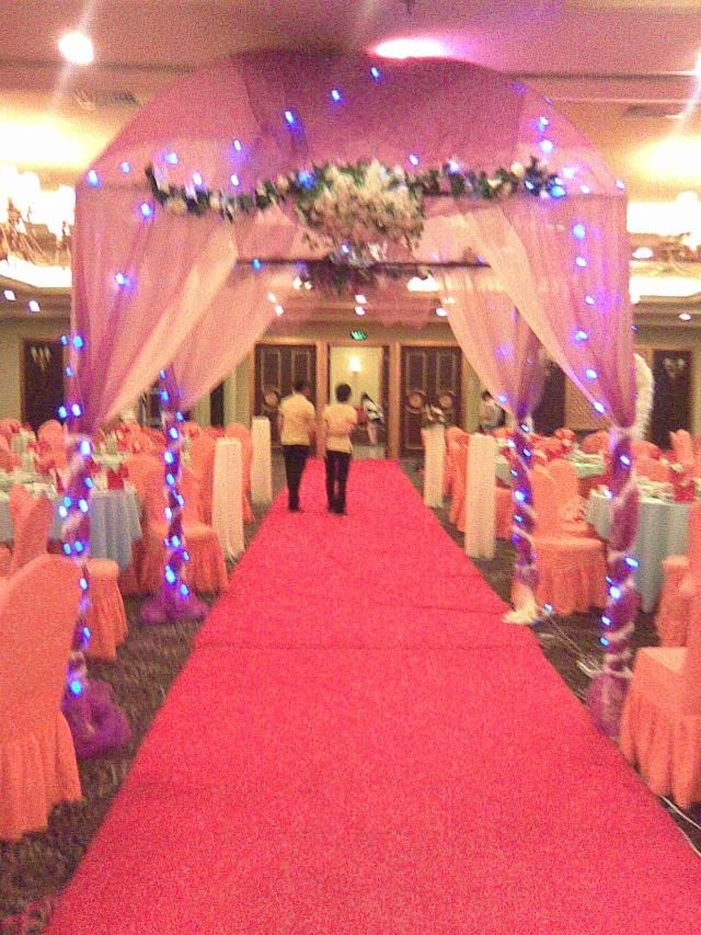 漂亮的结婚礼堂拍拍