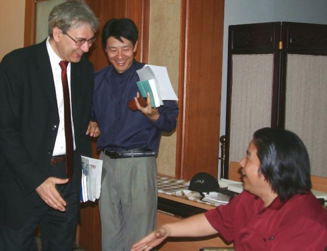 诺贝尔文学奖获得者帕幕克珍藏中国著名书法艺术家蓝