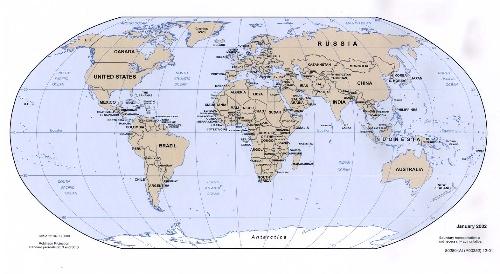 全世界人口分布_世界人口分布