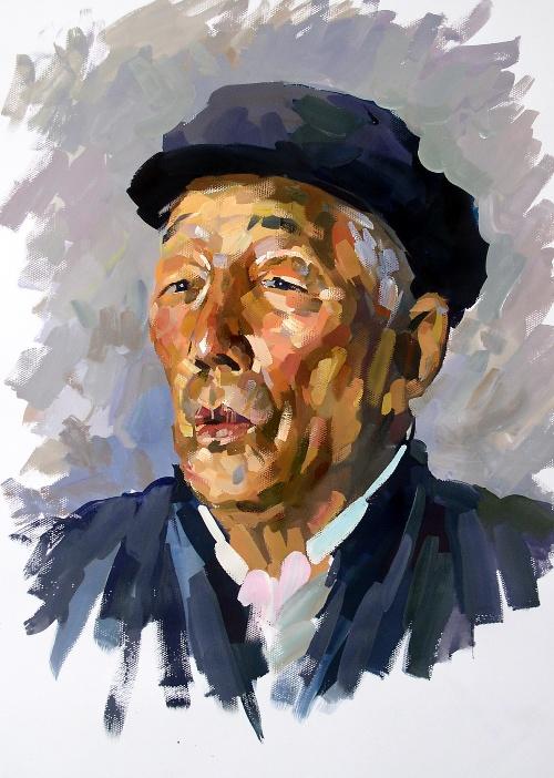 单个静物色彩_2007年水粉画头像作品-王昭举画坊-搜狐博客