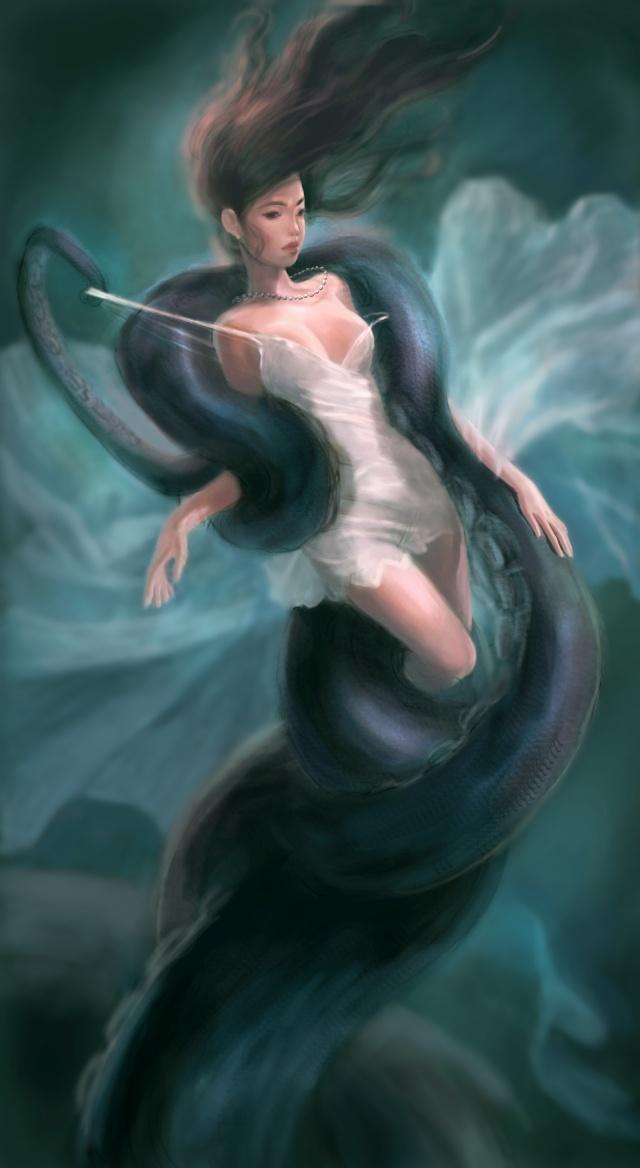 章鱼美女图片(6)