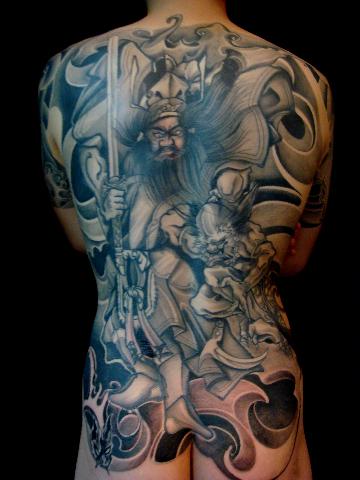 纹身图案解释 2 钟馗