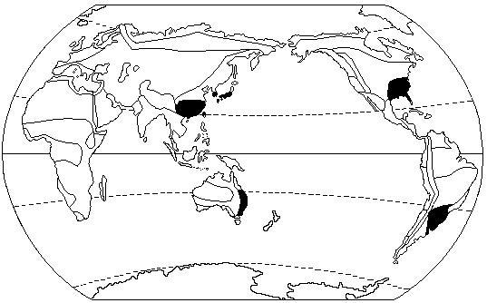 亚热带季风气候及其自然带