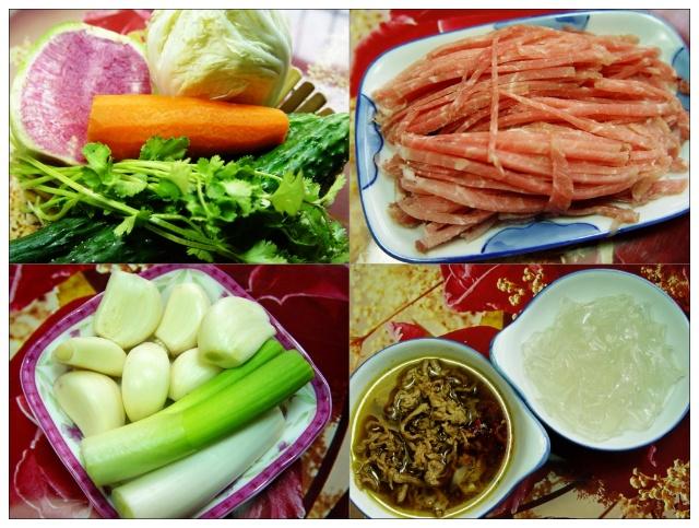 心里美萝卜,胡萝卜只是用于配菜