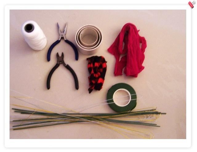 手工丝袜花的制作