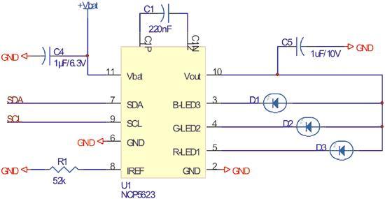 pwm驱动背光电路图