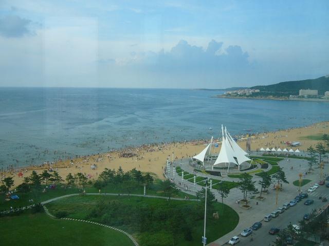 金海湾国际海水浴场