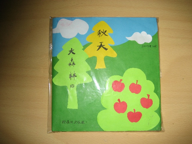 幼儿园自制图书