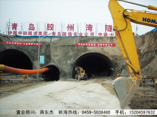 青岛市胶州湾海底隧道