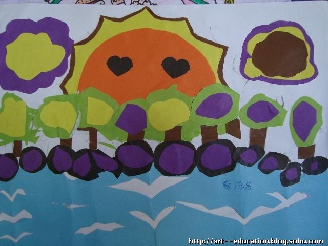 叠色剪纸优秀作品(五年级)-心中每天开出一朵花-搜狐