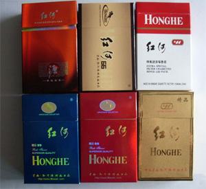 红河道烟多少钱一盒_红色盒的红河烟多少钱一条?-