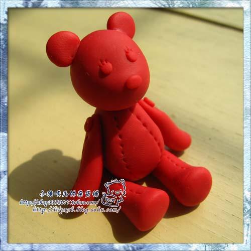 可爱的熊熊--软陶篇