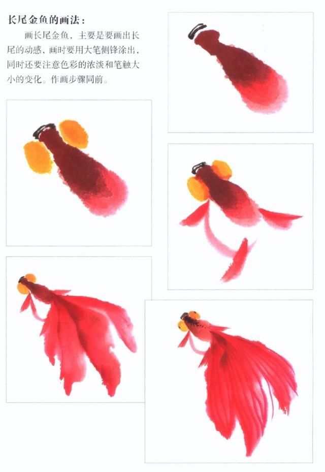 徐湛国画金鱼的画法 徐湛国画小鸡 徐湛国画兰花
