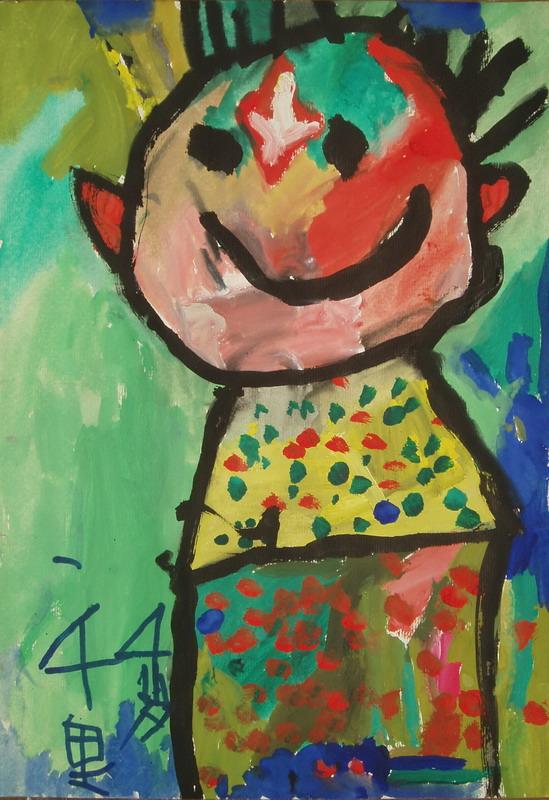 儿童卡通画教案-小狗简笔画|幼儿画手帕|中班超轻粘土的教案|蝴蝶