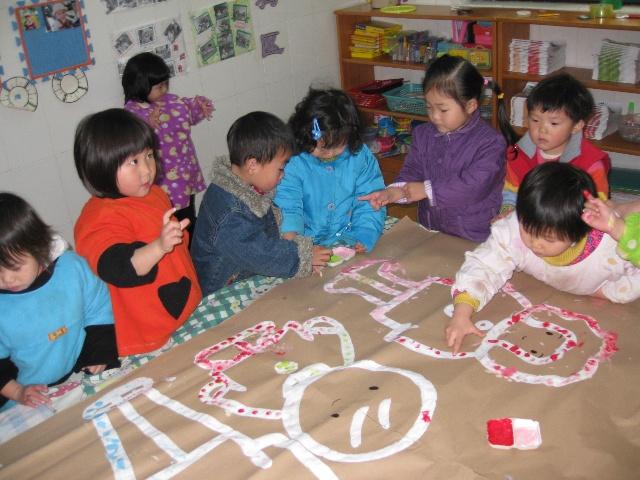 手指点画《我爱爸爸妈妈》-神龙幼儿园-搜狐博客