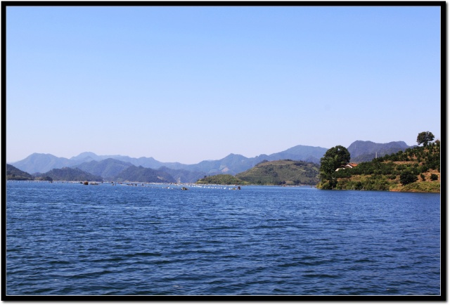 柘溪水库位于湖南省益阳市安化县资水中游,距县城15公里