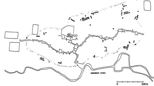 地图 简笔画 手绘 线稿 511_285