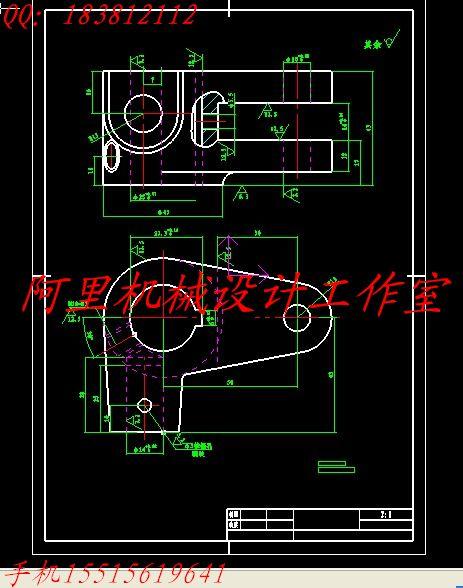 装夹具设计 【aa123】轴承座零件的工艺规程及车&phi