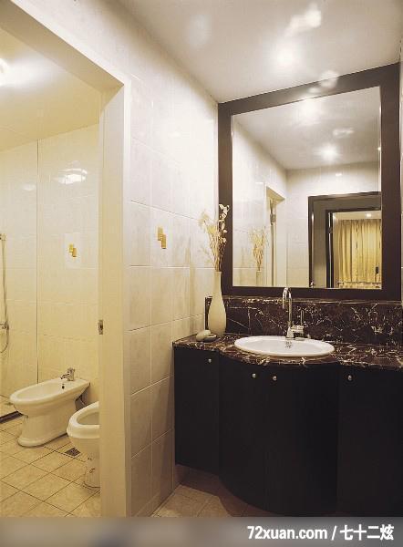 欧式洗手间洗澡装修效果图片