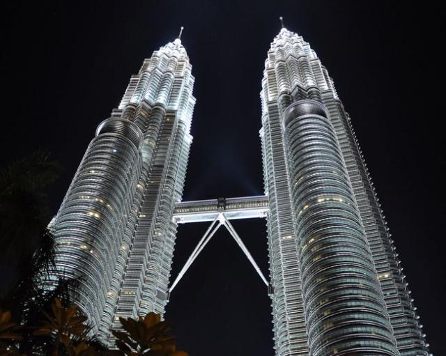 马来西亚吉隆坡双子塔图组