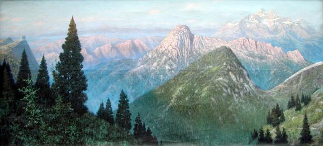 大自然之子 读王磊夫的油画风景