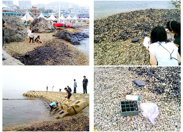 大海污染儿童绘画环保