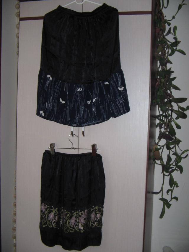 旧衣改造:裙子瘦变肥