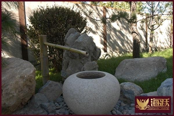 山地别墅庭院水系景观营造