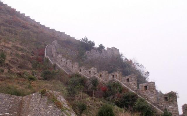 凤凰古城十一景之南方长城图片