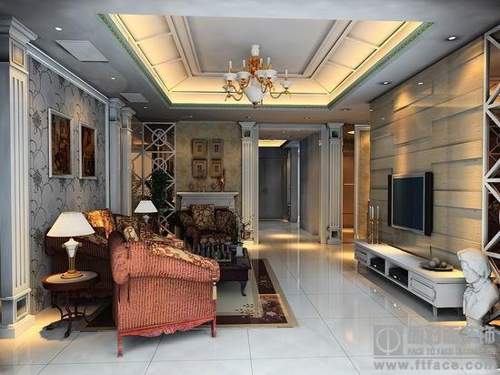 地面的装修中,在厨房,卫生间铺地转,卧室,厅内铺木地板已是最高档次.