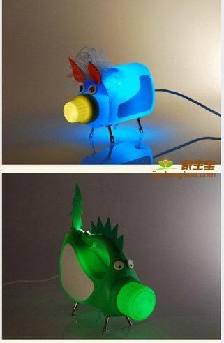 塑料瓶幼儿园小动物物手工制作