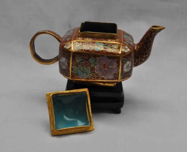 铜丝茶壶制作图解