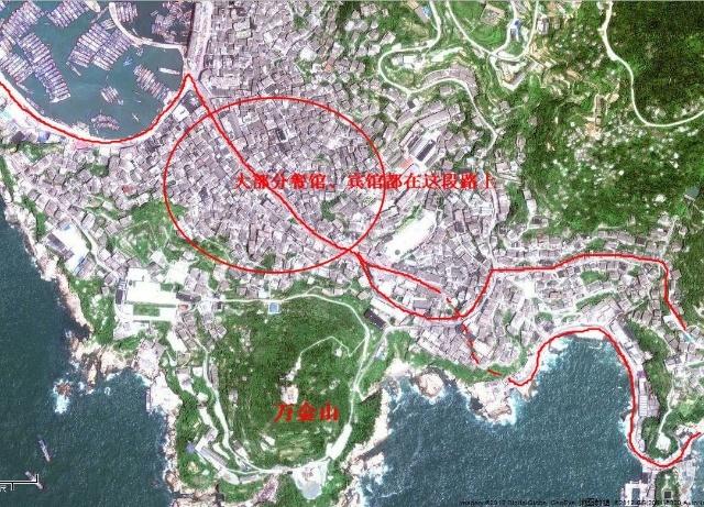 枸杞岛 嵊山岛 地图