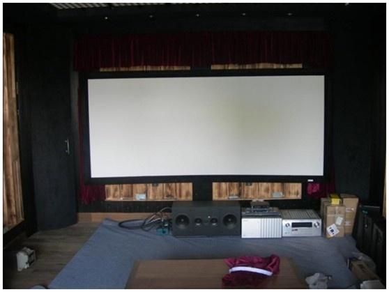 安装设备-梦幻星空吊顶的7.2家庭影院装修方案