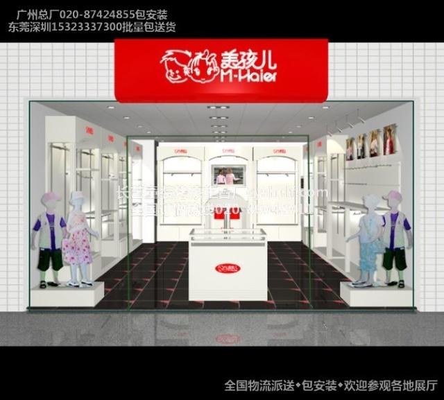广州深圳长艺烤漆展柜厂最新店面店铺装修图片,全国订做热
