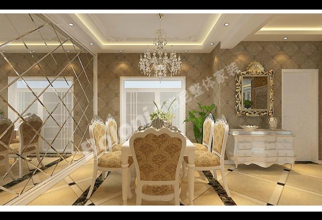 厅餐厅轻钢龙骨石膏板造型