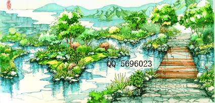 等动物活动的理想场所,又连通了河流生物廊道系统,增加生物多样性设计